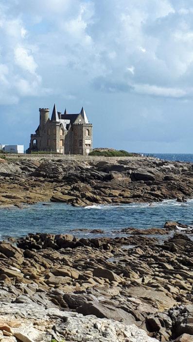 Château Turpault sur la côte sauvage de Quiberon